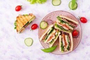 Gezonde sandwich – VoedingVeilig