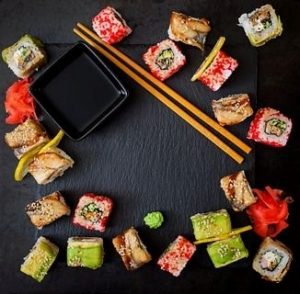Smaakvolle sushi – VoedingVeilig